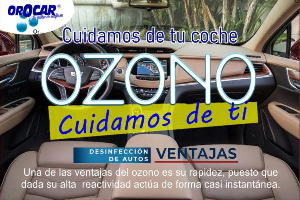 desinfeccion de vehiculos con ozono